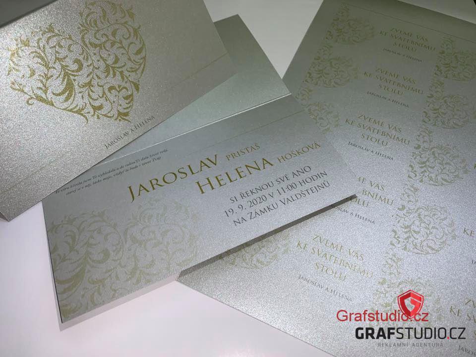 výroba svatebního oznámení