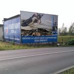 Výroba billboardu Kovodemont