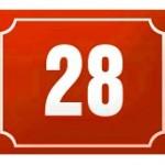 Nová služba – výroba popisných čísel na dům