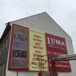 výšková práce na výškové plošině - instalace billboardu
