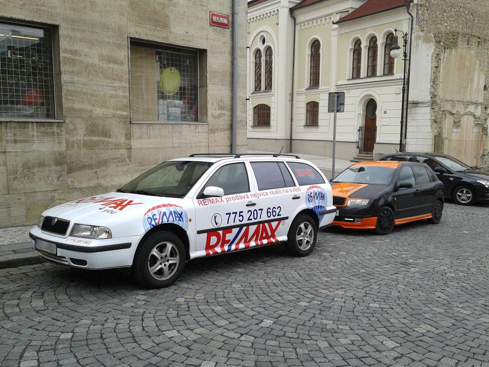 Reklamní celopolep vozidla Škoda Octavia