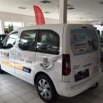 Reklamní celopolep vozidla Citroen