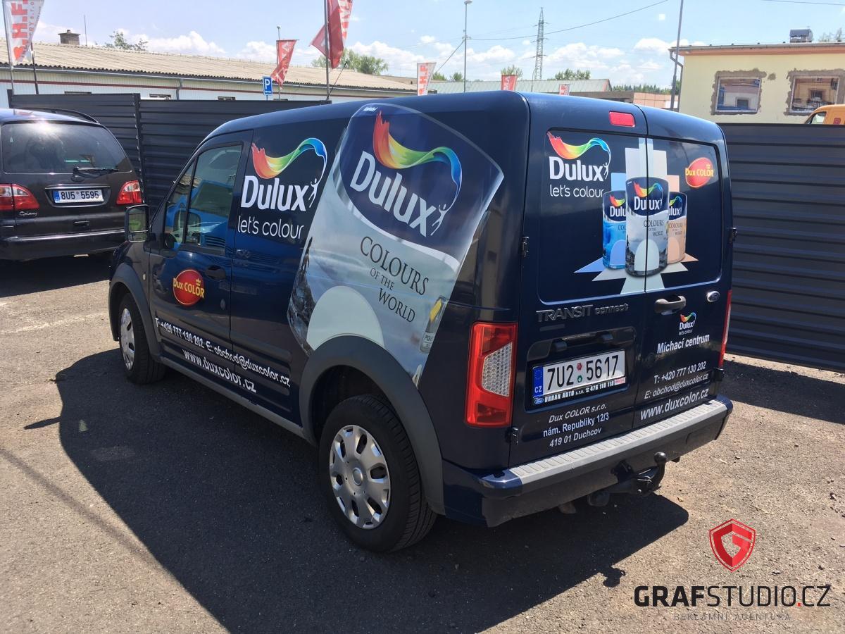 Celopolep vozu pro společnost Dulux