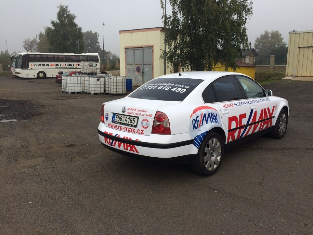Celopolep vozidla Wolkswagen Passat