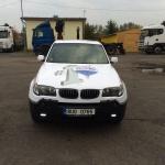 Reklamní celopolep automobilu BMW