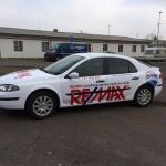 Reklamní celopolep automobilu Renault