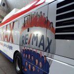 Nová reference: celopolep autobusu společnosti Remax