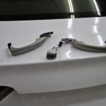 Celopolep automobilu - detail kliky