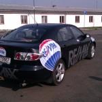 Reklamní celopolep vozidla