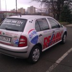 Reklamní celopolep vozidla Škoda