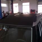 Polep střechy se vzorem 3D karbon