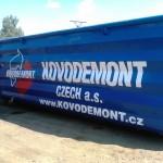 Tisk na kovový kontejner