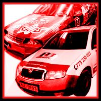 Reklamní polepy aut