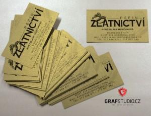 Výroba a tisk vizitek