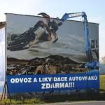 Ukázka realizace: Billboard pro KOVODEMONT CZECH a.s.