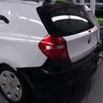 celopolep BMW - postup lepení