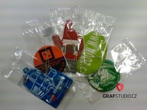 Reklamní předměty - visačky