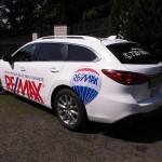 Celopolep vozu Mazda realitní kanceláře
