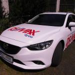 Ukázky prací: Celopolepy aut společnosti Remax