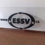 3d logo na skle