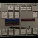 informační tabule plechová