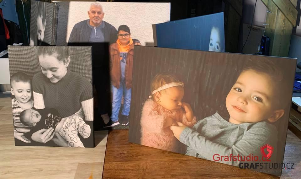 Fotky na plátno
