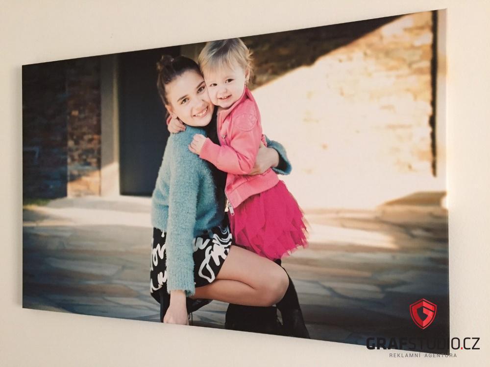 fotoobraz dětí na plátně