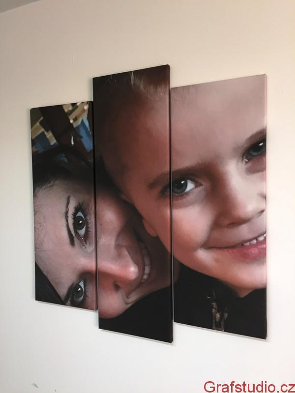 fotoobraz na třech plátnech
