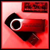 Reklamní USB flash disky – potisk USB disků