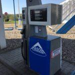 Renovace čerpací stanice polepem