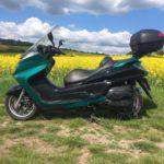 Nová služba a realizace: celopolep motorky