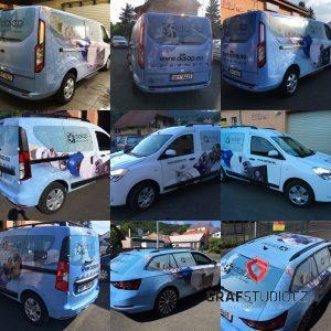 Nová reference: reklamní polepy aut společnosti Dalap