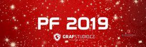 PF 2019 – Reklamní agentura Grafstudio Vám přeje pohodové Vánoce a mnoho úspěchů v novém roce