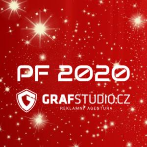 PF 2020 – Grafstudio Vám přeje krásné Vánoce a mnoho úspěchů v novém roce